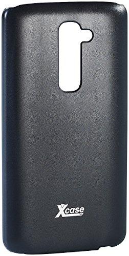 Xcase Case Cover: Ultradünnes Schutzcover für LG G2 schwarz, 0,3 mm (Schutzhülle für Handy zum Schutz für Kratzer, Aufprall, Wasser, Staub)