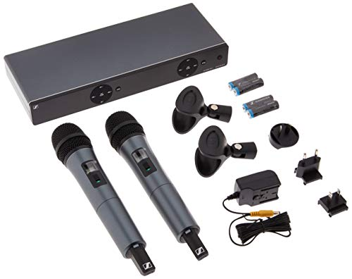 Sennheiser XSW 1-835 Dual Channel Wireless Microphone - Receiver Diversity Microphone Wireless Dual