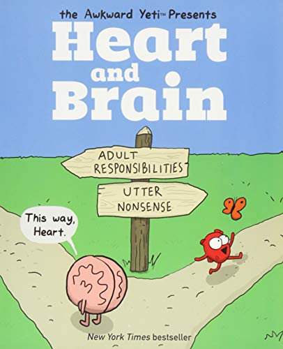 Heart and Brain: An Awkward Yeti Collection -