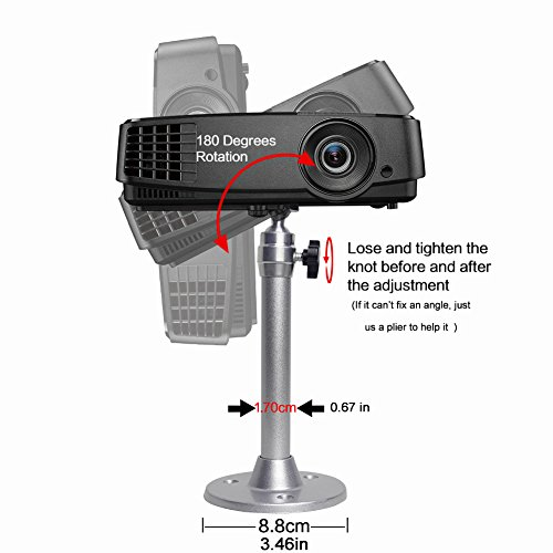 Buy ceiling projector mount adjustable