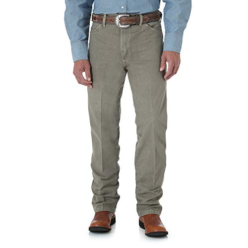 Wrangler Men's Cowboy Cut Slim Fit Jean, Trail Dust, 35x32