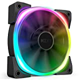 NZXT AER RGB 2-120mm - Advanced Lighting Customizations - Winglet Tips - Fluid Dynamic Bearing - LED RGB PWM Fan for Hue 2