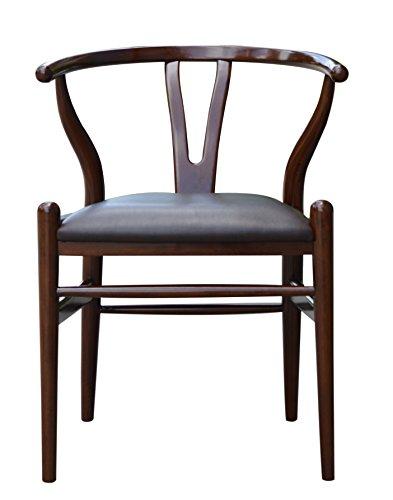 Boraam 53018 Wishbone Dining Chair, 29-Inch, Walnut