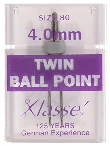 Klasse Universal Twin Ball Point Sewing Machine Needles