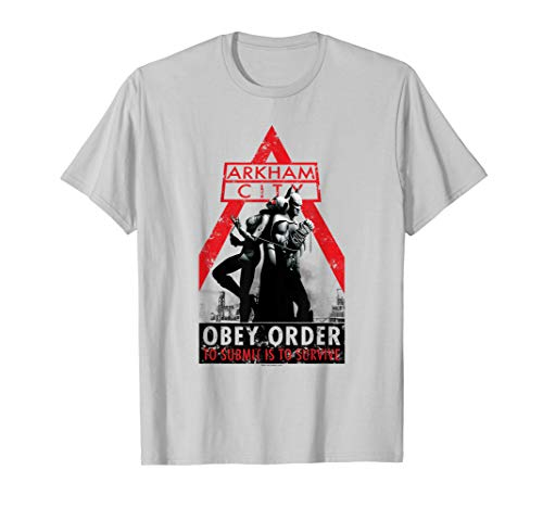Batman: Arkham City Catwoman Obey Order T-Shirt (Catwoman Arkham City)