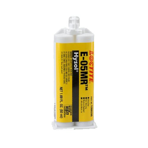 Loctite EA (Hysol) E-05MR Moisture Resistant Fast Setting Crystal Clear Epoxy - 50ml/1.7oz cartridge by Loctite (Image #1)