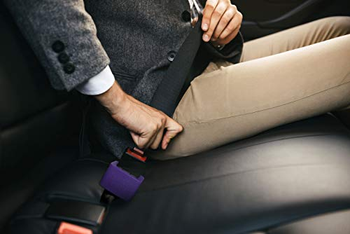 Buckle Booster for Car Seat Belt – Raises Your Seat Belt for Easy Reach – Stop Fishing for Buried Seat Belts – Stands Up Receptacle for Hassle Free Buckling (1)