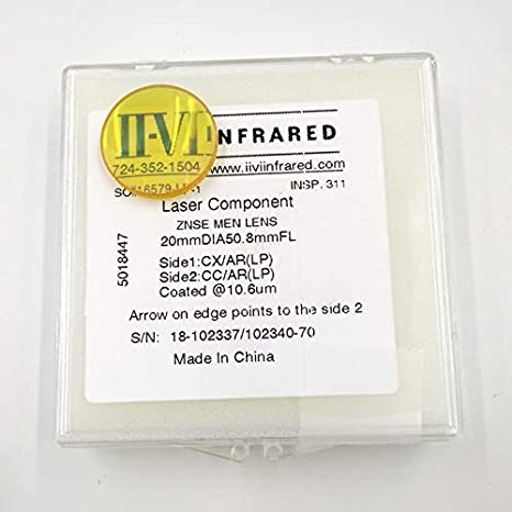 II-VI ZnSe Lente di messa a fuoco .OD 19.05mm FL 50.8mm 2 per CO2 Laser Engraver CO2 Incisione Laser Incisione Macchina HANDOO