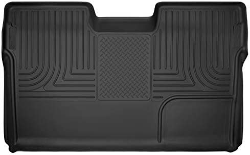 Husky Liners 09-14 Ford F-150 SuperCrew Cab X-Act Contour Second Row Seat Floor Liner – Black (53391)