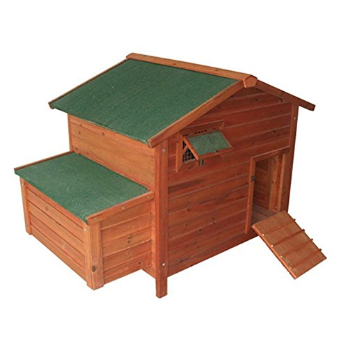 Pawhut Deluxe Wooden Chicken Roosting
