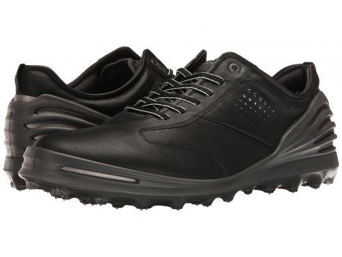 ECCO Golf(エコー ゴルフ) メンズ 男性用 シューズ 靴 スニーカー 運動靴 Cage Pro - Black [並行輸入品] B07BMS4GG2 40 (US Men's 6-6.5) D - Medium