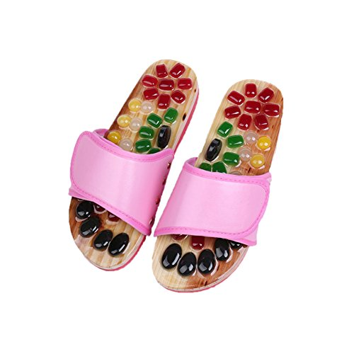 Women Chaussons pour Pink TELLW Femme BxwqWtYOWg