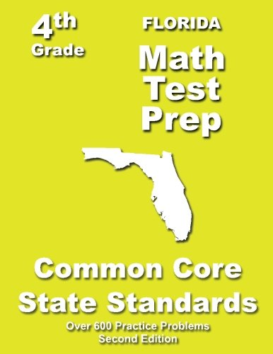 Florida 4th Grade Math Test Prep: Common Core Learning Standards