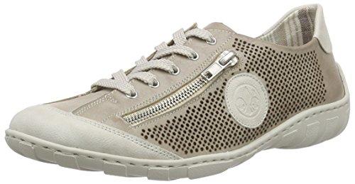 Rieker M3747 Women Low-top, Women's Low-Top Sneakers Beige (Ice/Steel / 80)