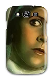 Best 9071077K34642096 New Princess Leia Painting Tpu Case Cover, Anti-scratch Phone Case For Galaxy S3