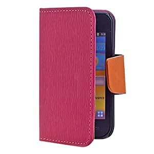 Cross Grain PU Leather Full Body Case for Samsung Galaxy i9000(Assorted Color) , White