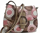 Coach Soho Snaphead Snap Head Flap Swingpack Messenger Bag Purse 46788 Pink Multi