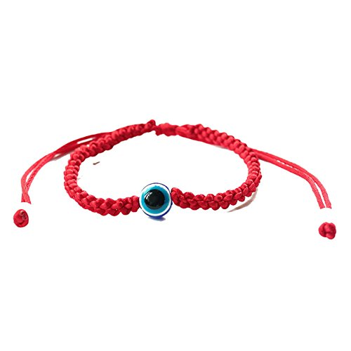 Lucky Kabbalah Red String Thread Bracelets Blue Turkish Evil Eye Women Handmade Friendship Jewelry 4 Round
