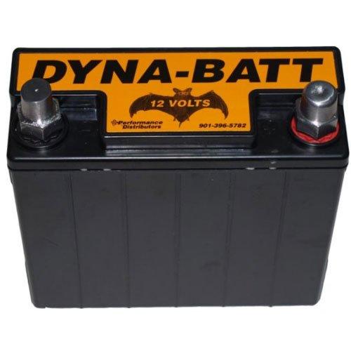 DUI 5575B Dyna-Batt 12-Volt Battery Top Post Terminals 12 Volt Dry Cell