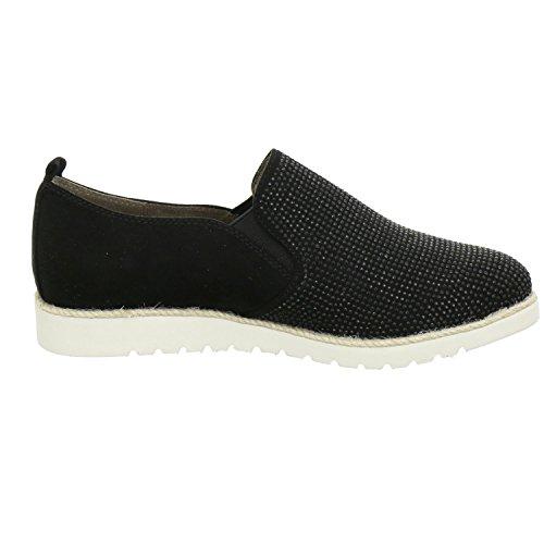 Jana Women's 8-8-24603-28/001-001 Loafer Flats 001black k45Ljw