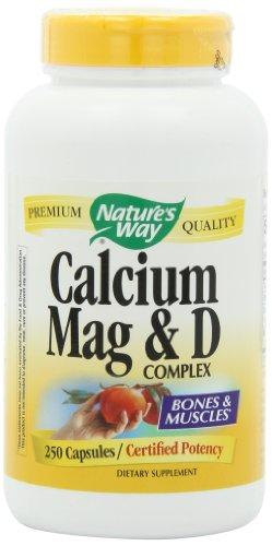 Way calcium, le magnésium et la vitamine D, 250 capsules de Nature