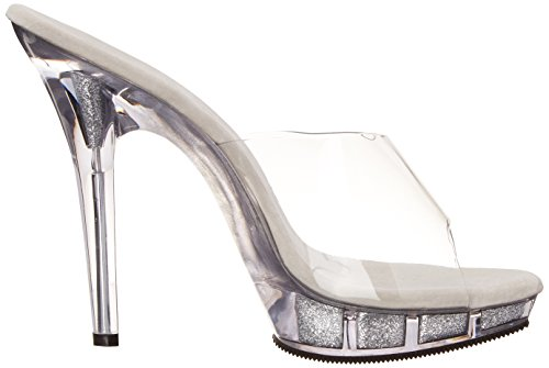 Femmes 101 Fabulicious Lèvre Plate forme Sandale Claire Lèvre Des Des qXwt4T