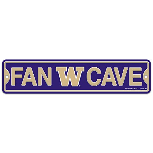 WinCraft Washington Huskies Plastic Fan Cave Sign 4