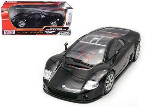 Kyosho 1//64 VW VOLKSWAGEN NARDO W12 COUPE BLACK diecast car model