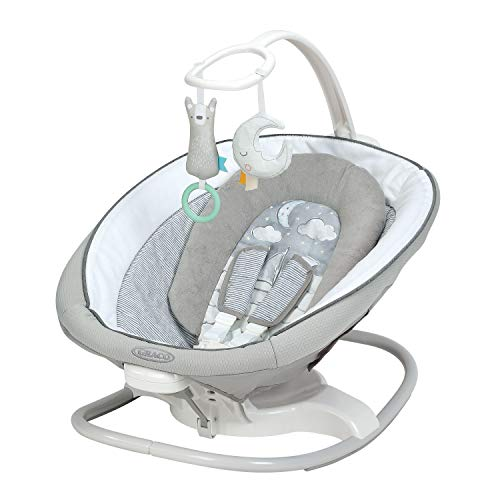 Sense2Soothe Baby Swing with Cry Detection Technology, Sailor