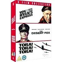 Von Ryans Express - Desert Fox - Tora! Tora! Tora! 3 Film Collection