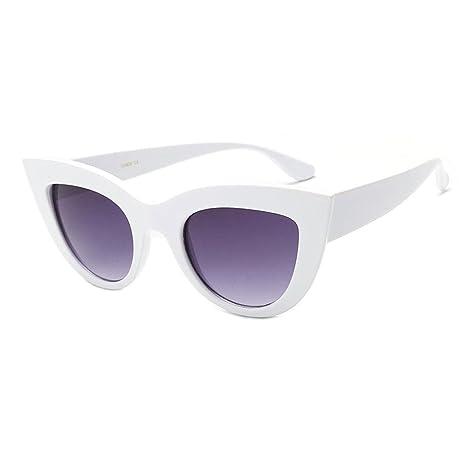 AOLVO Gafas de Sol Cat Eye, Gafas de Sol con Forma de ...