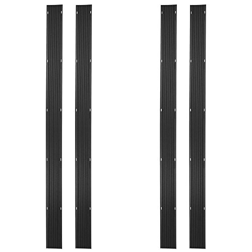 Discount Ramps 32ft. Snowmobile Ski Carbide Glide Protector Guides - (4) 8ft. Sections by Discount Ramps