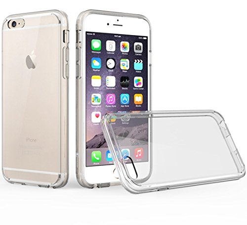 Amberonics Premium Quality Designer iPhone 6 Case, Apple iPhone 6/6s Case Scratch Resistant, Shock Absorption Bumper, Finger Print Resistant Clear Back for iPhone 6s iPhone 6