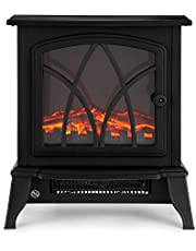 NETTA Electric Stove Heater With Log Burner Flame Effect