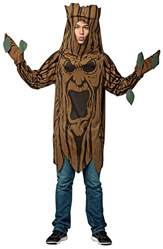 Rasta Imposta Scary Haunted Tree Outfit Adult Fancy Dress Halloween Costume, OS