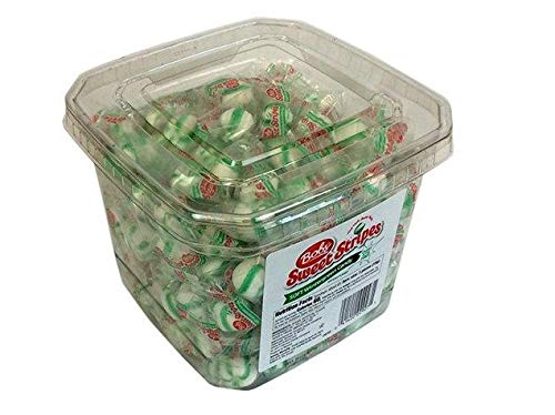 (Bobs Sweet Stripes Soft Wintergreen Candy 200 Pieces)