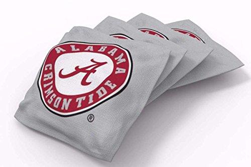 - PROLINE 6x6 NCAA College Alabama Crimson Tide Cornhole Bean Bags - Solid Design (B)