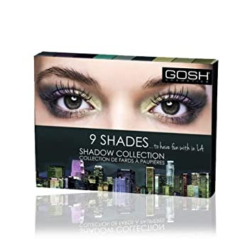 Paleta de Sombras 9 shades - 002 To have fun with in LA - Gosh Copenhagen