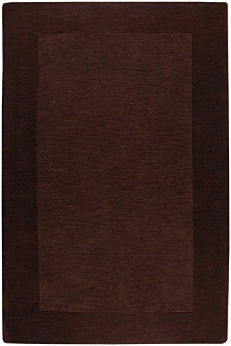 (Surya Mystique 9'9 x 9'9 Square Hand Loomed Wool Rug in Brown)