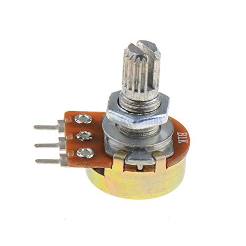 5K ohm B5K linear potentiometer WH148 with nuts and washers P003#