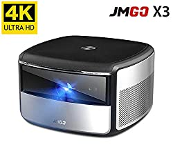 4k Projector Jmgo X3 Native 4k Uhd Home Cinema Projector Android 3d Smart Tv Projector Built In Hifi Stereo Chinese Version