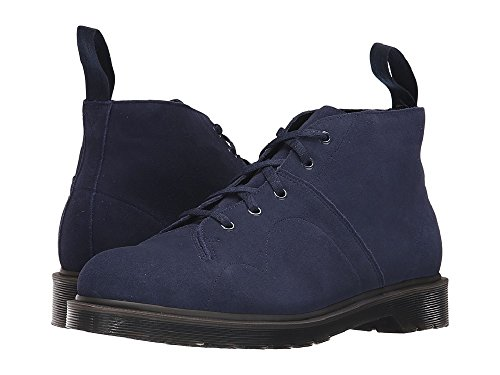 Doc Martens Church Monkey Blue Suede Boots Size Mens 7 Womens 8 AW004 (Church Monkey Boot)