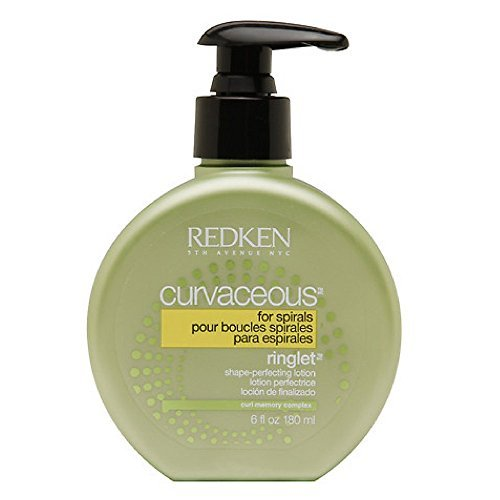 Redken Curvaceous Ringlet Anti-Frizz Perfecting Hair Treatment Lotion, 6 oz (Pack of 2)