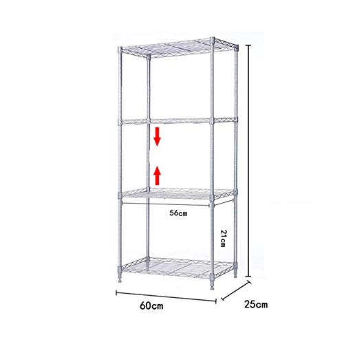 HUO 6025CM Kitchen Floor Shelf Rack Storage Rack (Size : 120C) by Kitchen shelf (Image #4)