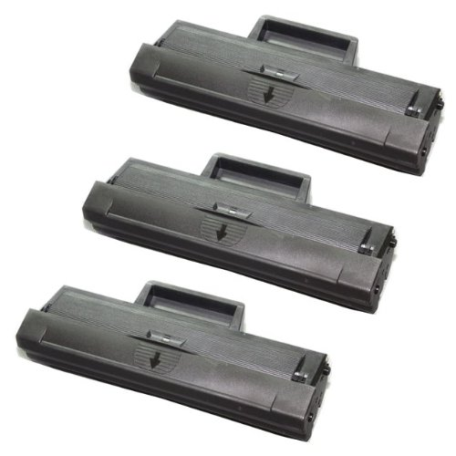 3 Pack MLT-D104S Compatible Toner Cartridge For ML-1665 ML-1865W (1500 Pages)