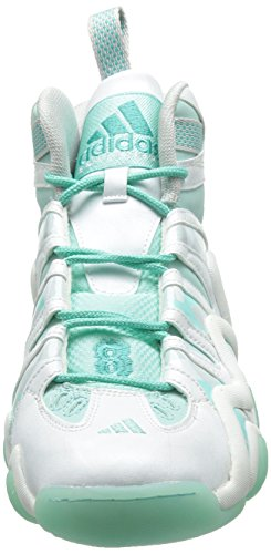 Adidas Crazy 8, WeiÃ? / frozenmint / Gletscher Grau, 9 M Us, WHITE/FROZENMINT/GLACIER GREY, 10.5