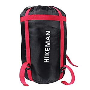 HIKEMAN Lightweight Compression Sacks Sleeping Bag Storage Stuff Sack Design For Camping Hiking Backpacking and other…