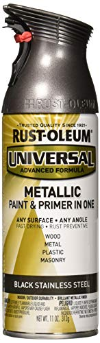 Rust-Oleum RUSTOLEUM 314558 Black Stainless Steel Spray Paint