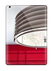 New Premium Flip Case Cover Metal Industrial Ceiling Light Skin Case For Ipad Air
