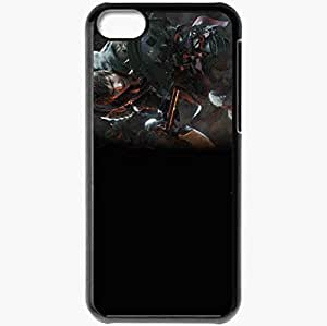 Personalized iPhone 5C Cell phone Case/Cover Skin A Realm Reborn Black